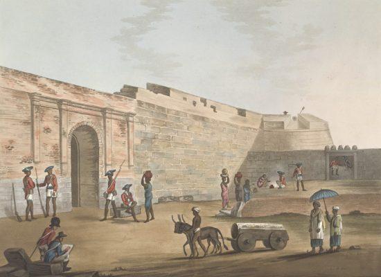 The Mysore Gate At Bangalore