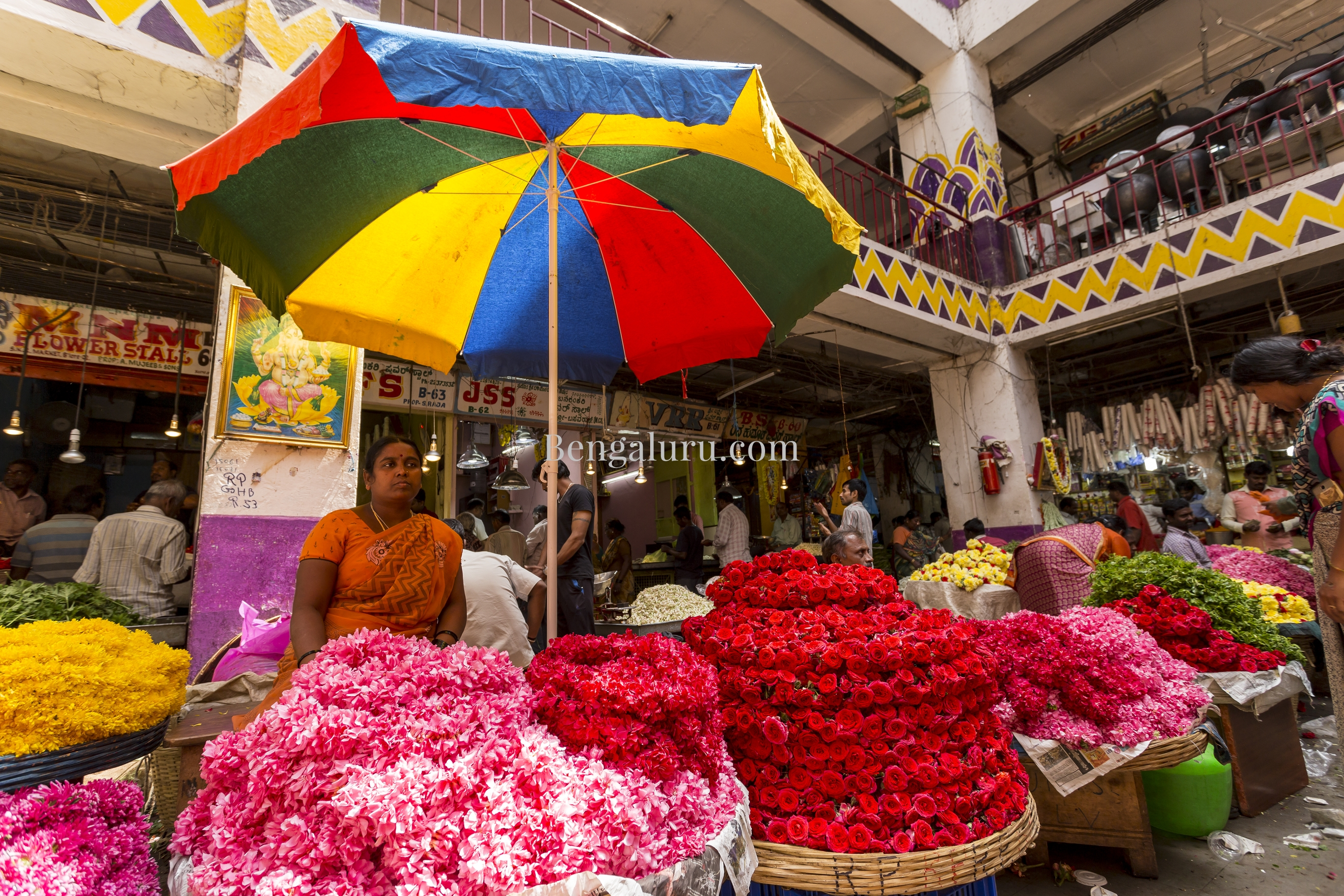 Bengaluru - Flower Market