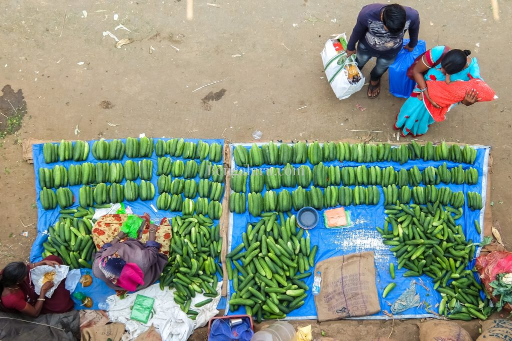 Bengaluru - Vegetable Market