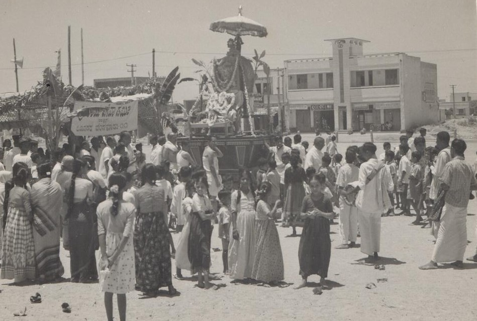 Sri Rama Navami celebrations at the grounds before Jayanagar Shopping Complex was built