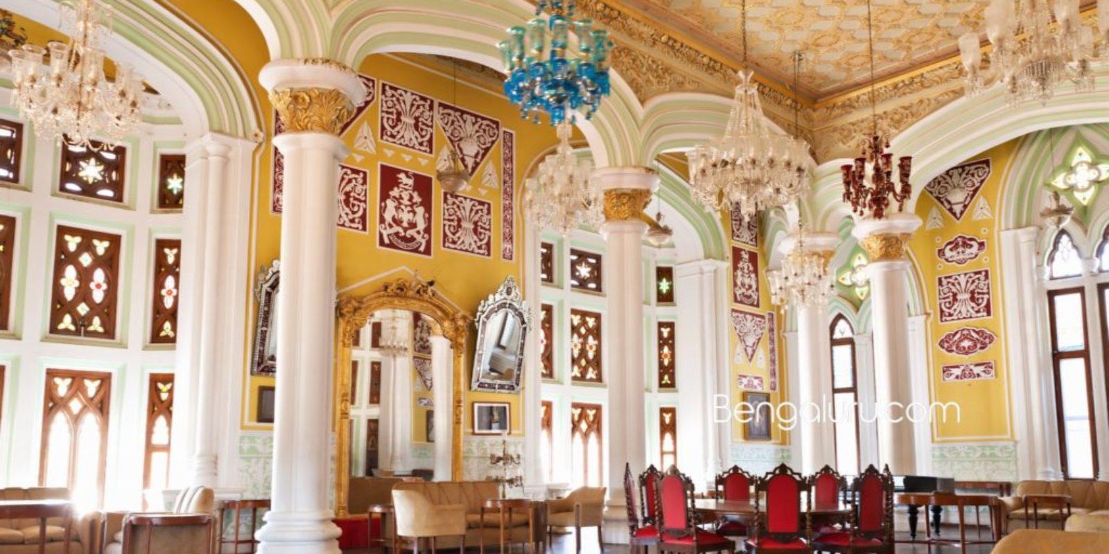 The splendor of Bengaluru Palace