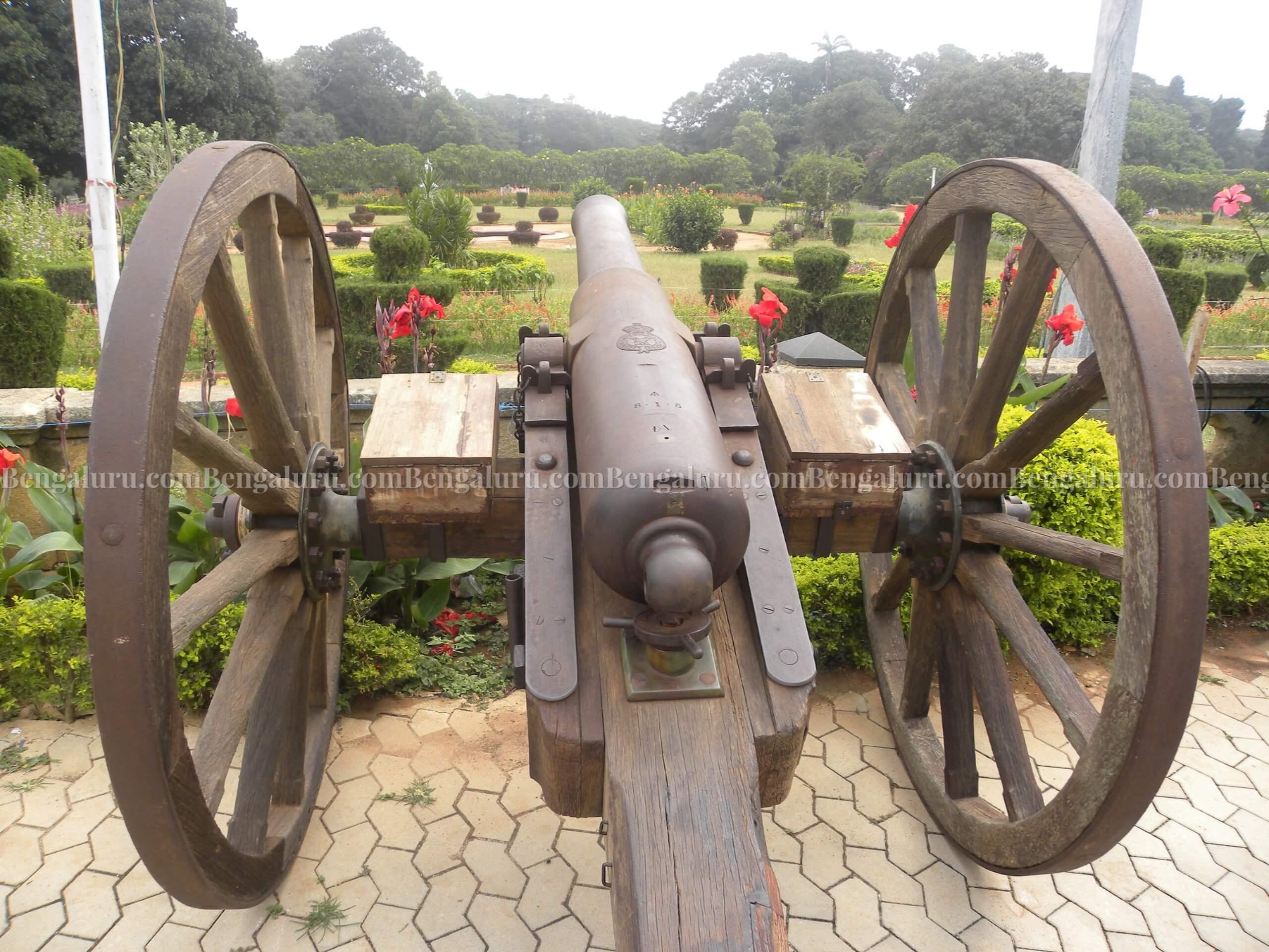 Bengaluru Palace Cannon