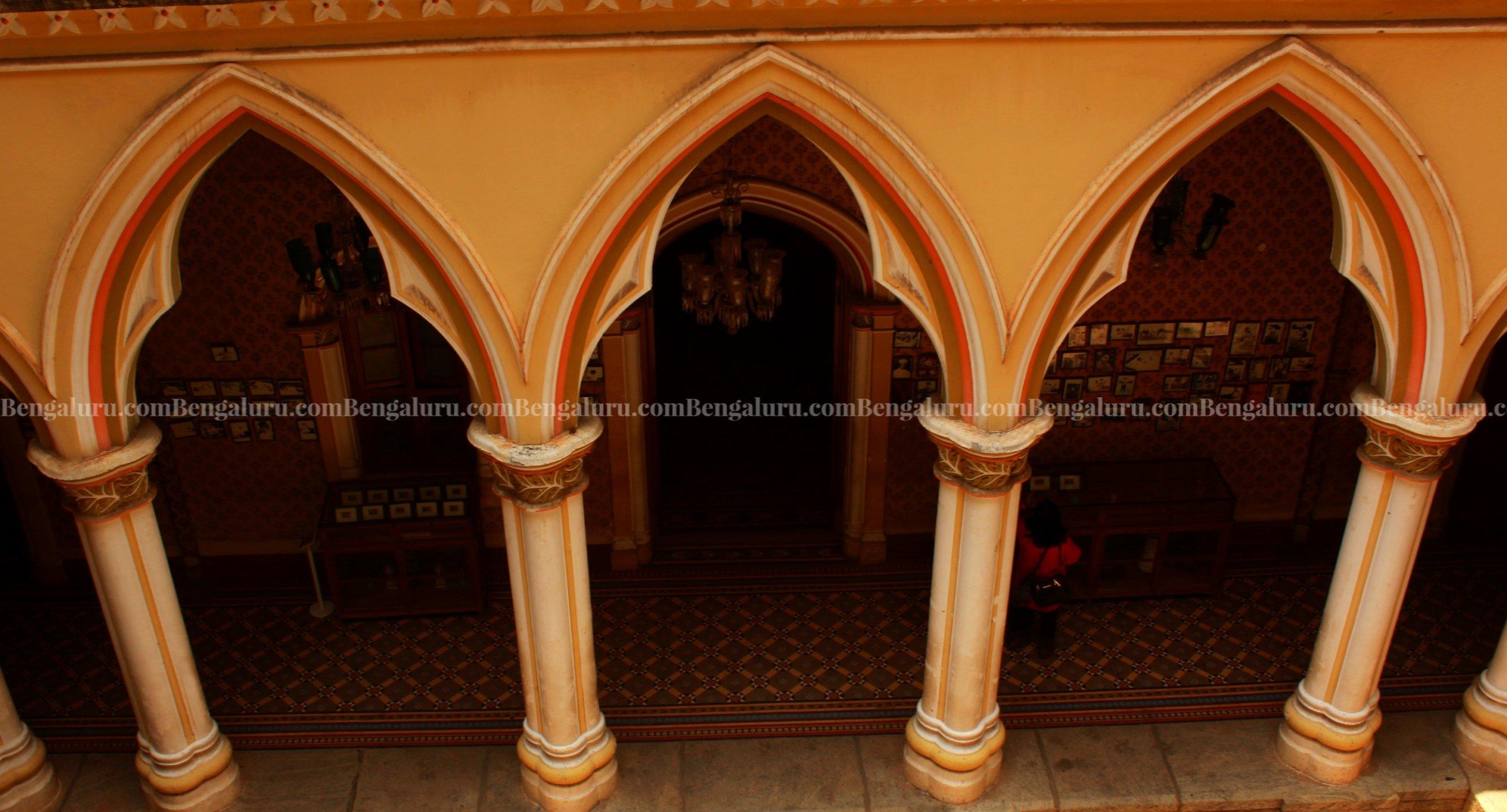 Bengaluru Palace Corridor