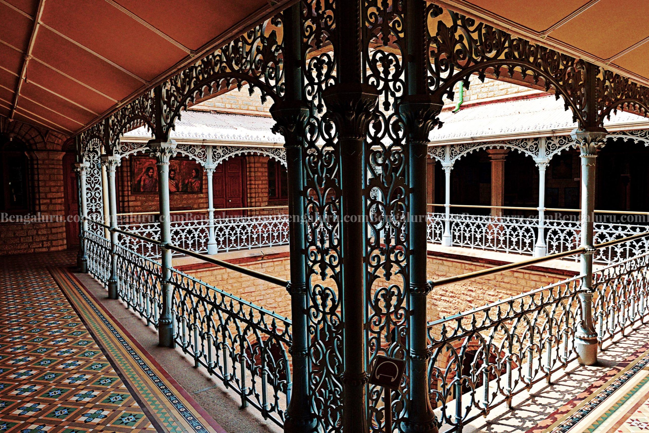 Bengaluru Palace - Pillar Designs