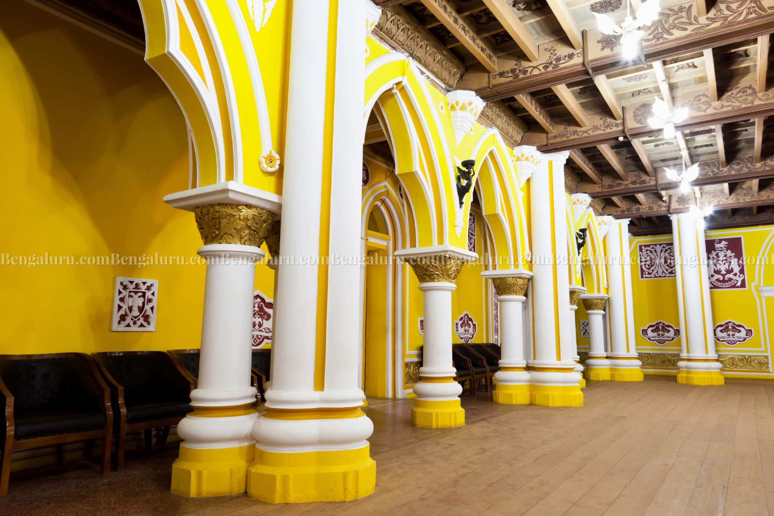 Inside Bengaluru Palace