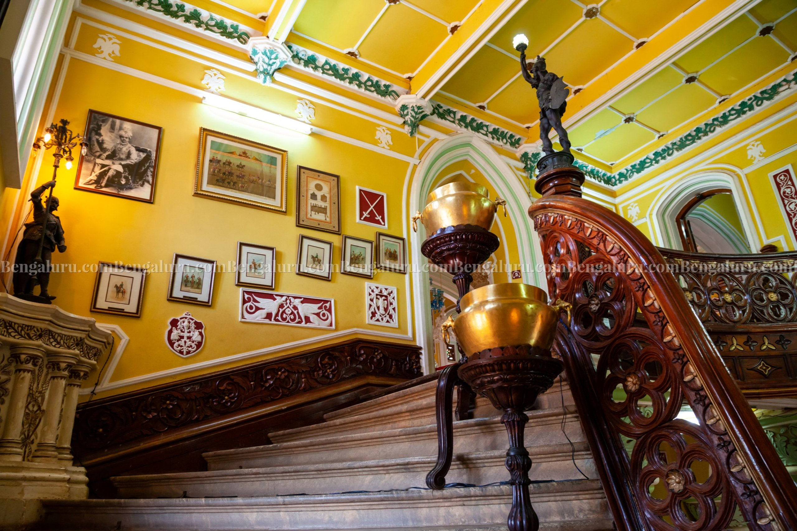 Bengaluru Palace Staircase