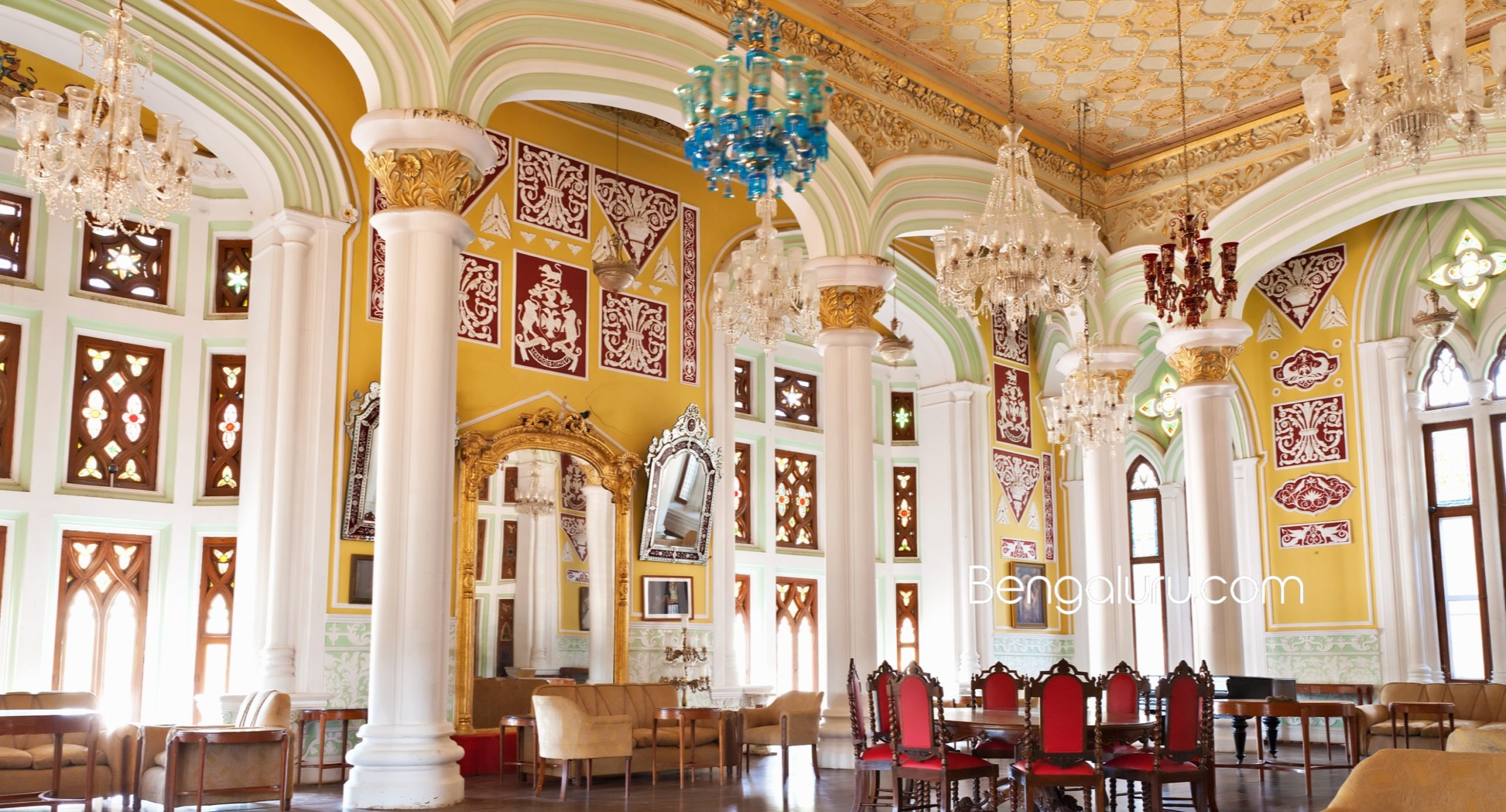 The splendor of Bengaluru Palace