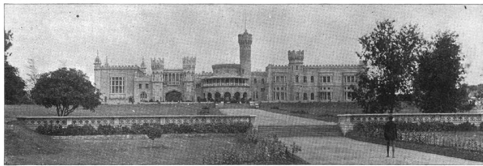 Bengaluru Palace in 1895