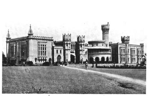 Bengaluru Palace in 1914