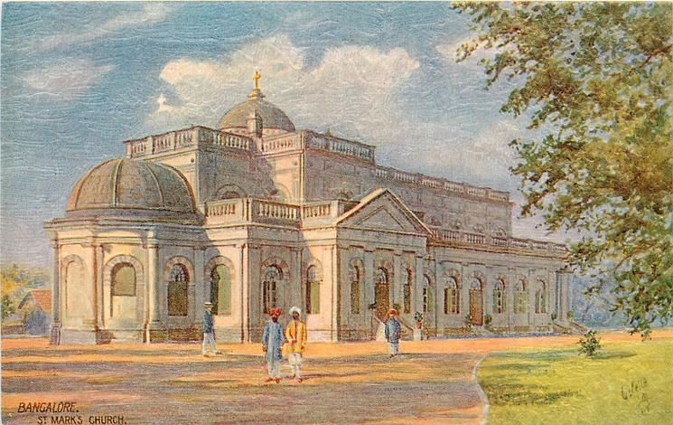 1812 AD – St. Mark's Church built