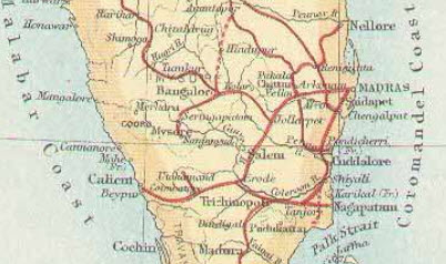 1882 AD – Bengaluru – Mysore Railway inaugurated