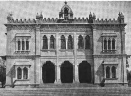 1907 AD – Shankar Mutt built