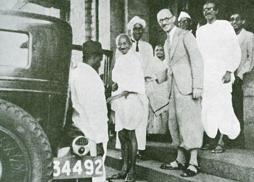 Mahatma Gandhi 's visit