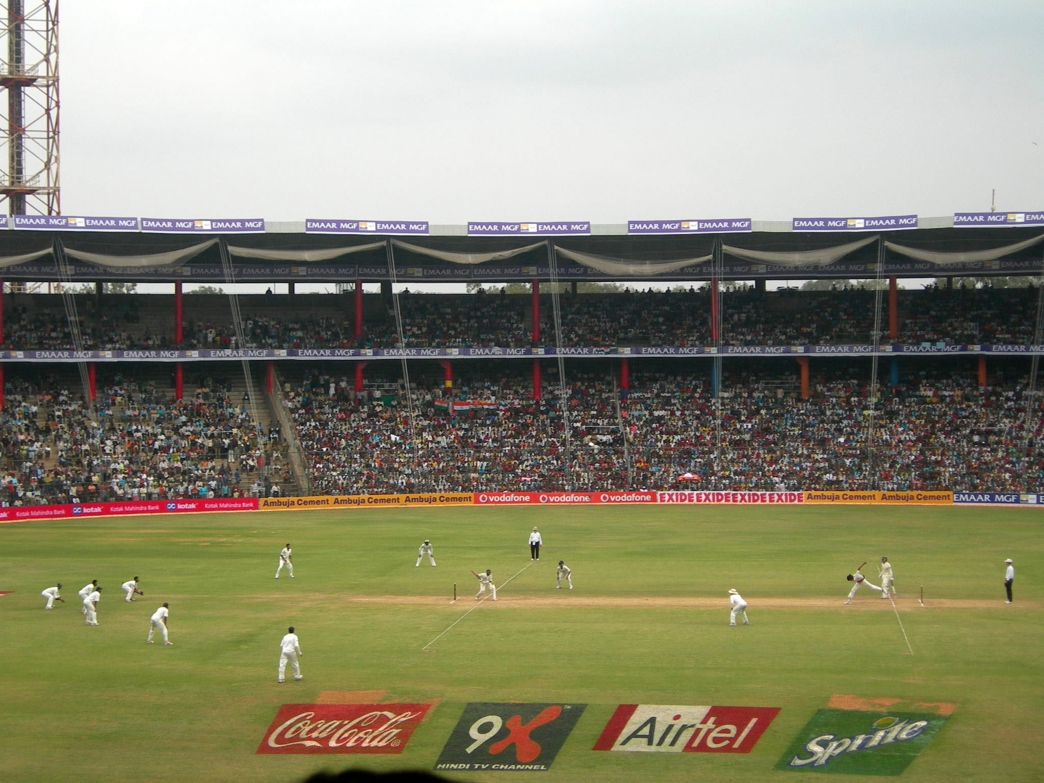 First Cricket Test at Bengaluru