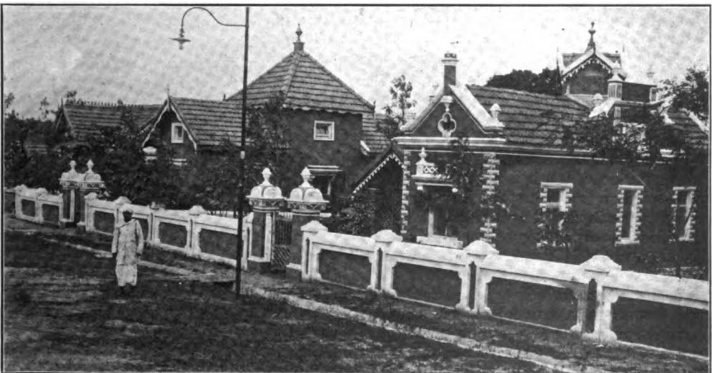 New Houses in plague-proof Fraser Town Image: E.F.H. Wiele