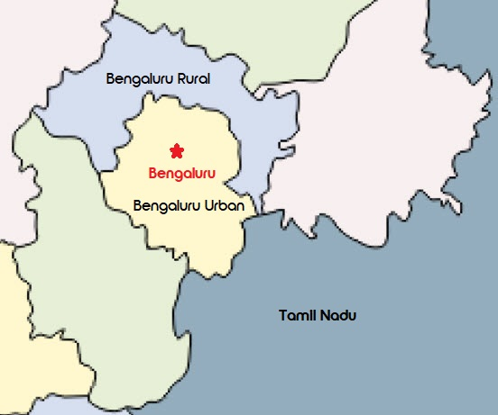 Bengaluru District bifurcation