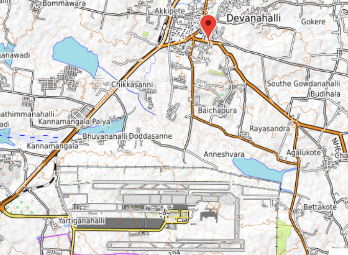 Devanahalli selected for new airport